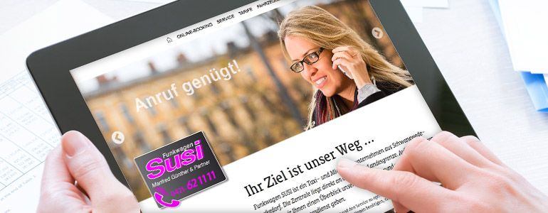 Kopfbild Taxi-Booking